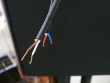 préparation des câbles coté hp
